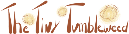 The Tiny Tumbleweed logo